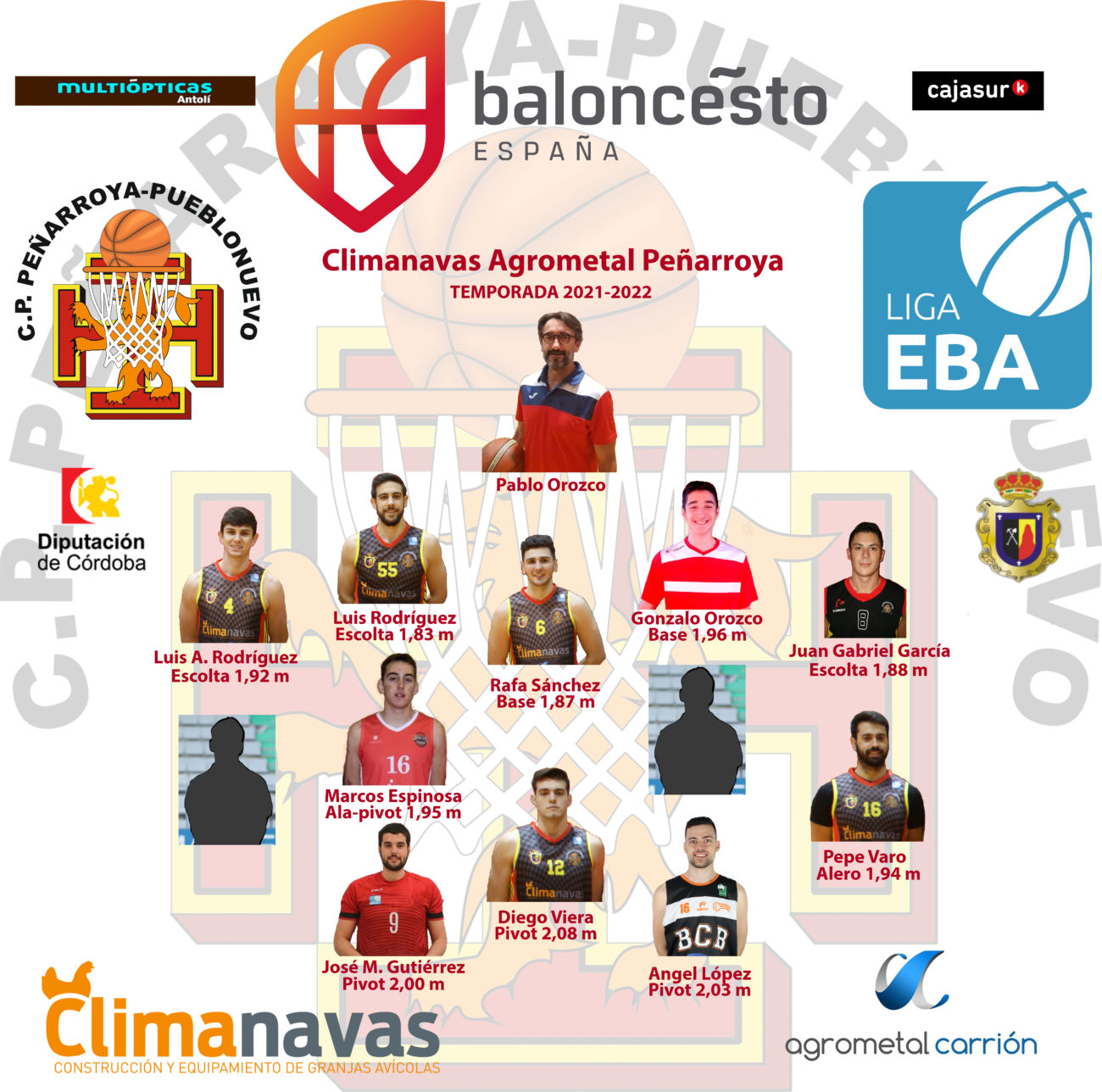 Climanavas Agrometal Peñarroya EBA 2021/22